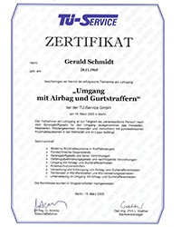TÜ-Service-Zertifikat-Airbag