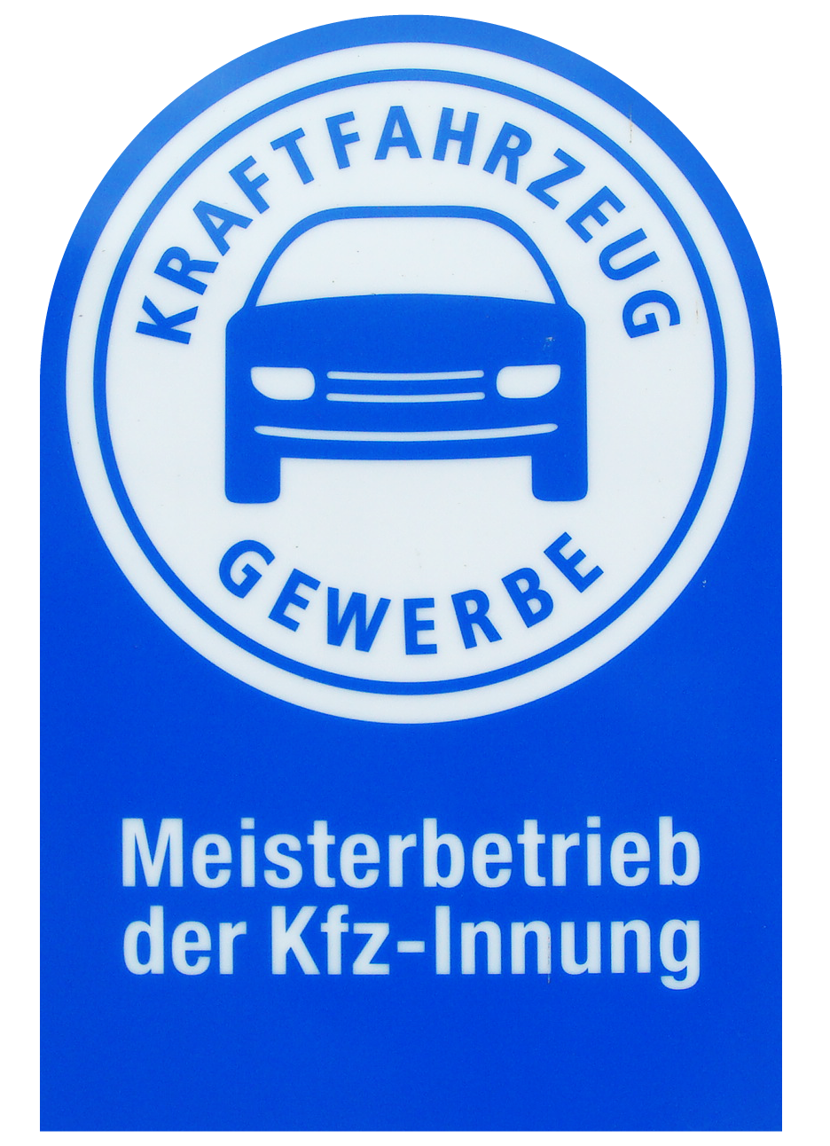Kraftfahrzeug-Gewerbe-Siegel KFZ-Meisterbetrieb